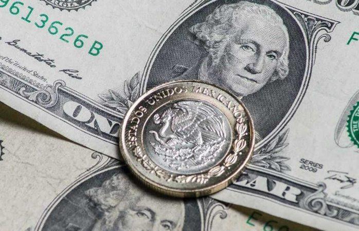 Está cotización del dólar en promedio a $18.94