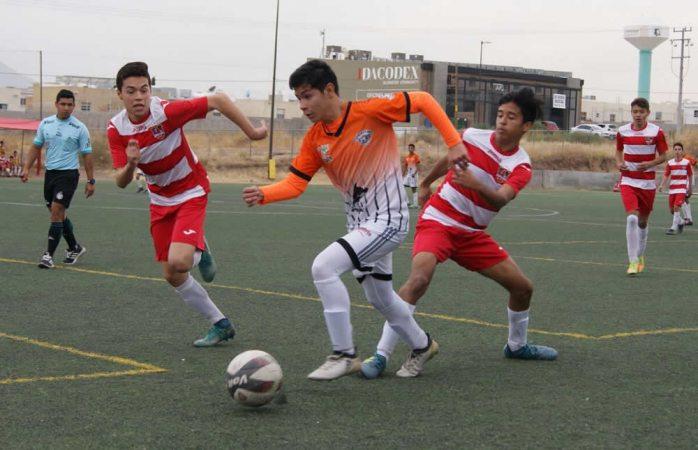 Cae Dorados Inter ante Delicias en la Liga Estatal de Futbol de Formación