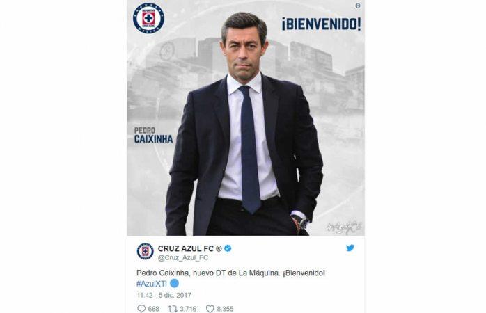 Es Pedro Caixinha el nuevo entrenador de Cruz Azul