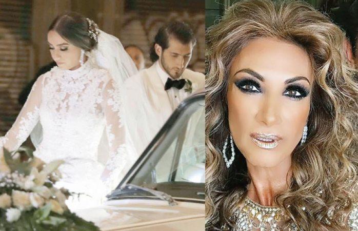 Así fue la excéntrica boda del hijo de Adela Micha