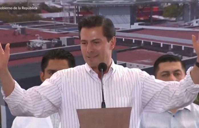 Confunde Peña Chiapas con Oaxaca en inauguración de hospital