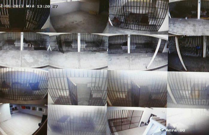 Vigila Cedh con cámaras celdas de la policía municipal