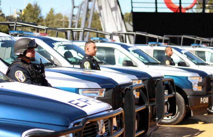 Vigila la policía municipal festividades guadalupanas