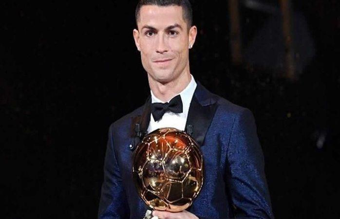 Obtiene Cristiano Ronaldo su quinto Balón de Oro