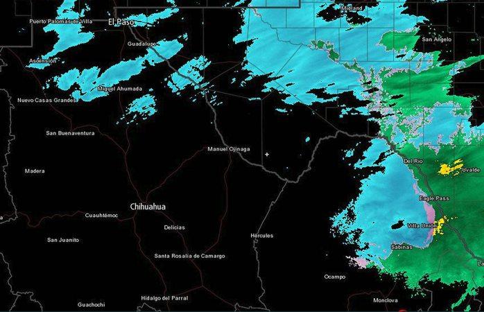 Detecta radar de conagua caída de nieve en 5 municipios