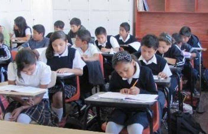Registran escuelas de nivel el básico 30% de ausencia por el clima