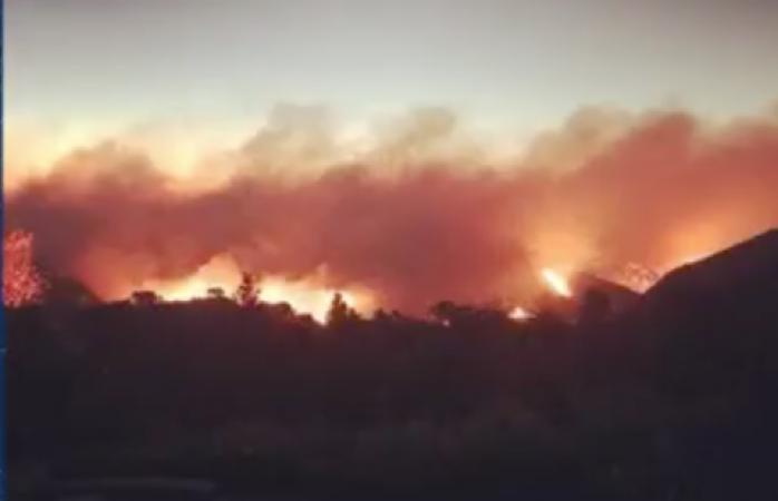 Evacuan a Kate del Castillo de su casa: las llamas están muy cerca
