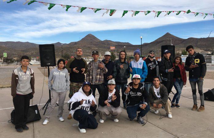 Promueven cultura del hip hop en San Guillermo