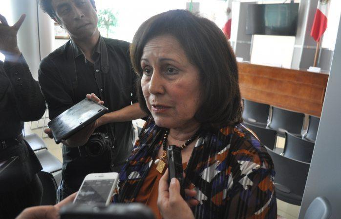 Omite dar declaraciones Lucha Castro por amenazas a diputada