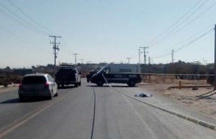 Muere joven atropellado en la carretera Juárez-El Porvenir