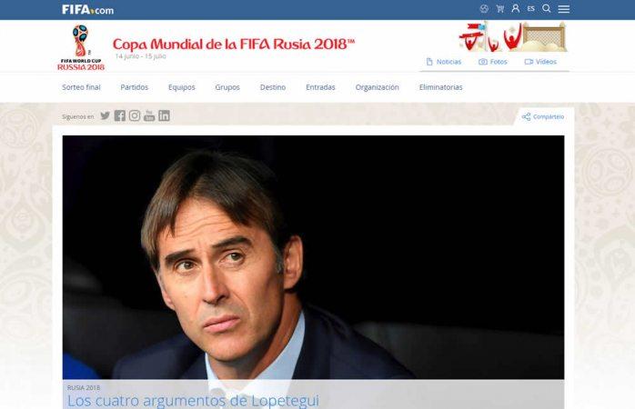 FIFA es la única autorizada para comercializar boletos para Rusia 2018