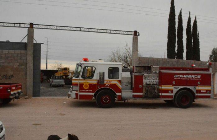 Sufre quemaduras en incendio de granja en la colonia Sierra Azul