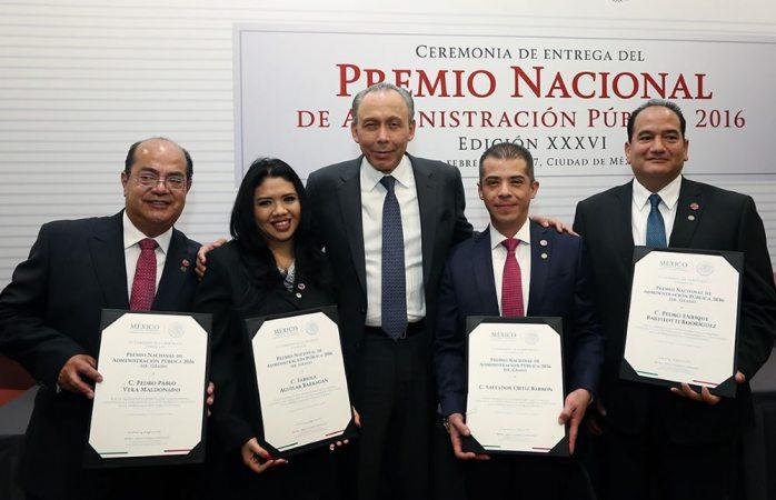 Obtiene Issste premio nacional de administración pública
