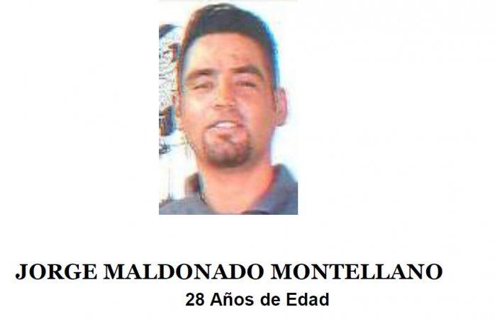 Piden ayuda para localizar a Jorge Maldonado Montellano