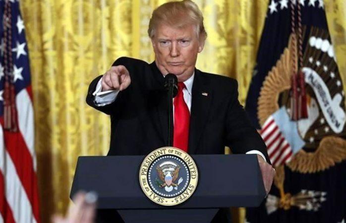 Explota el presidente Trump contra los medios