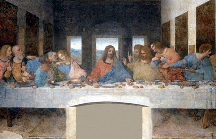 Descubren piedras preciosas en pintura La Última Cena