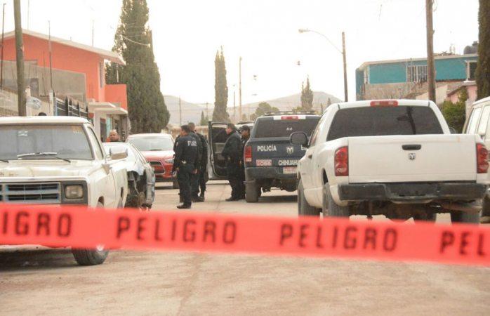 Ejecutan a tres en la calle Ignacio Rodríguez de la colonia CDP