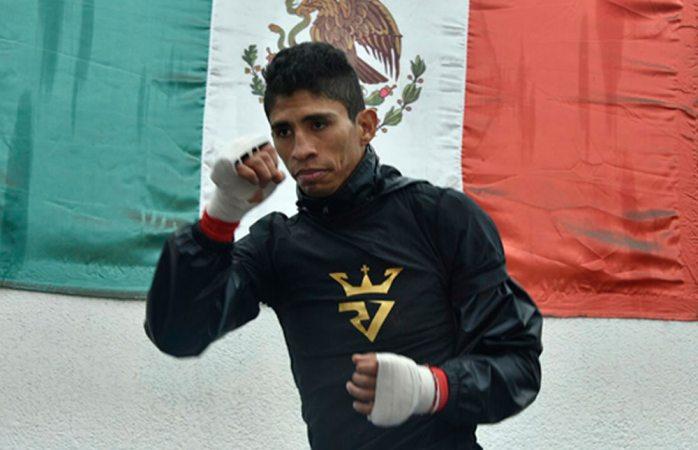 Cierra prácticas Rey Vargas para su pelea titular en Inglaterra