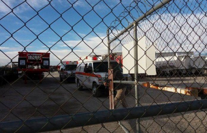 Explota tanque en fabrica de ciudad Juárez: hay tres heridos