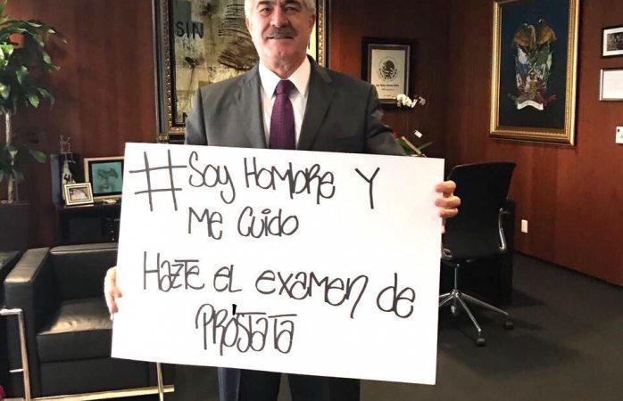 Soy hombre y me cuido dice Patricio Martínez por mes de la salud del hombre