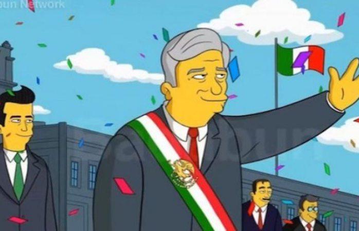 ¿Los Simpson predicen ahora el triunfo de AMLO?