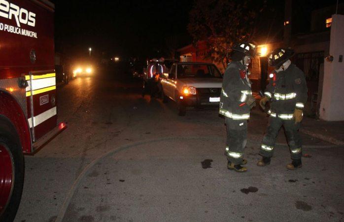 Atiende bomberos fuga de gas en la colonia Campesina