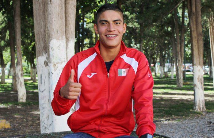 Se prepara Andrés Olivas para participar en los Juegos Olímpicos de Tokyo 2020