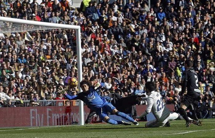 Golea el Real Madrid al Granada