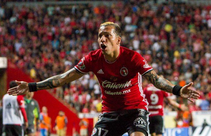 Dayro Moreno deja los Xolos para jugar con Atlético Nacional