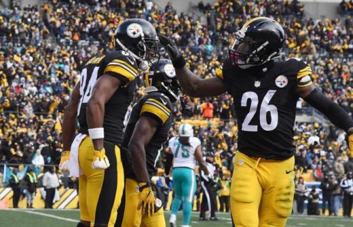 Pittsburgh avanzó a la ronda divisional aplastando 30-12 a Miami