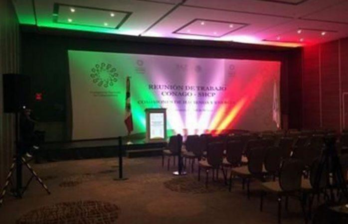 Tira Conago $109 mil al cancelar evento en hotel de lujo