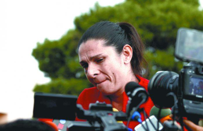 Ana Gabriela Guevara sumida en la depresión por tanto odio