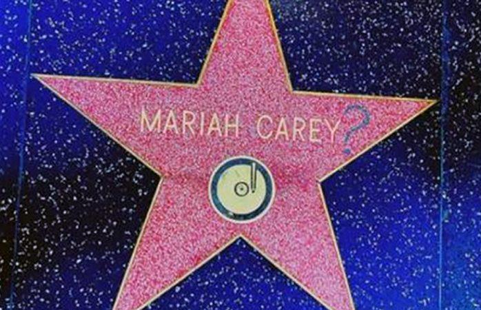 Vandalizan estrella de Mariah Carey en Hollywood