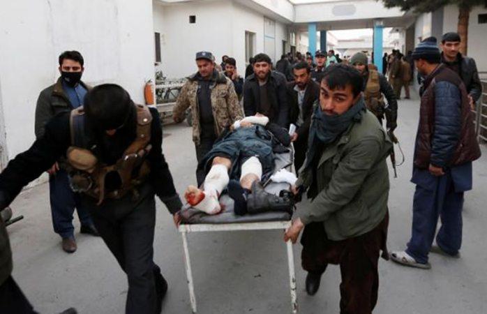 Mueren 30 durante doble atentado en Afganistán