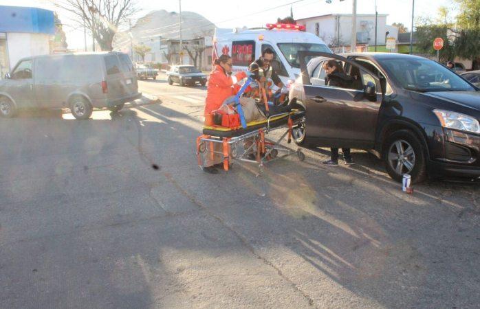 Un conductor lesionado en choque en la 46 y Ochoa