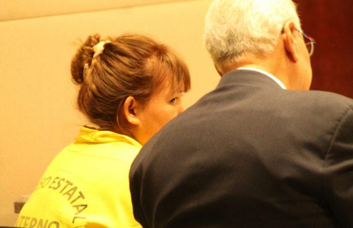 Enfrenta secuestradora acusaciones del MP en audiencia