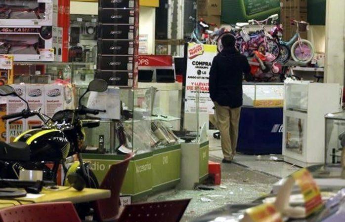 Suman 150 procesados por saqueos en la Ciudad de México