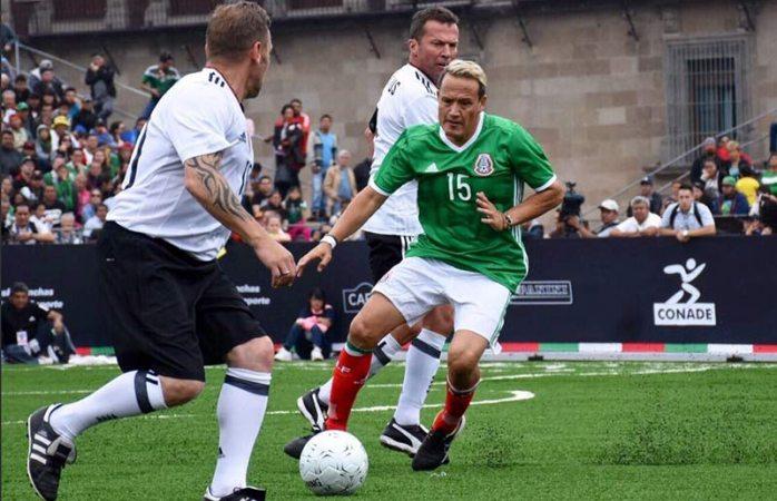 México pierde contra Alemania... En duelo de leyendas