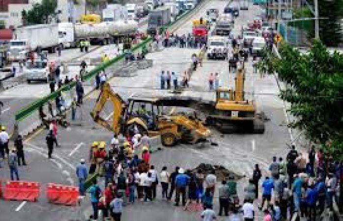 CNDH pide medidas para prevenir accidentes como en el Paso Exprés