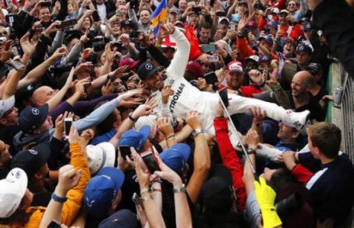 Hamilton, ganador del Premio de Gran Bretaña
