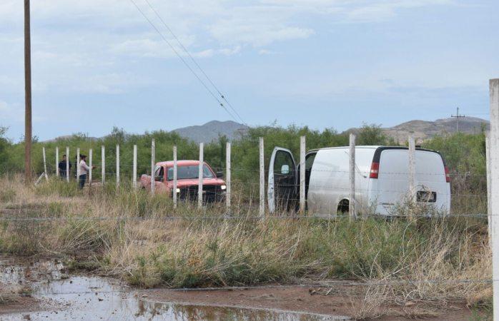 Encuentran osamenta en la carretera a Juárez