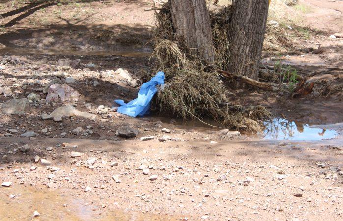Localizaron cadaver de niño arrastrado por río a un kilómetro del lugar