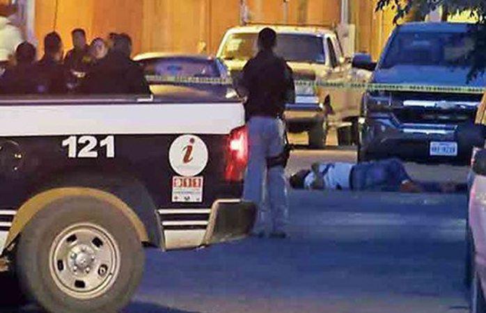 Balacera en Juárez deja dos muertos y un herido