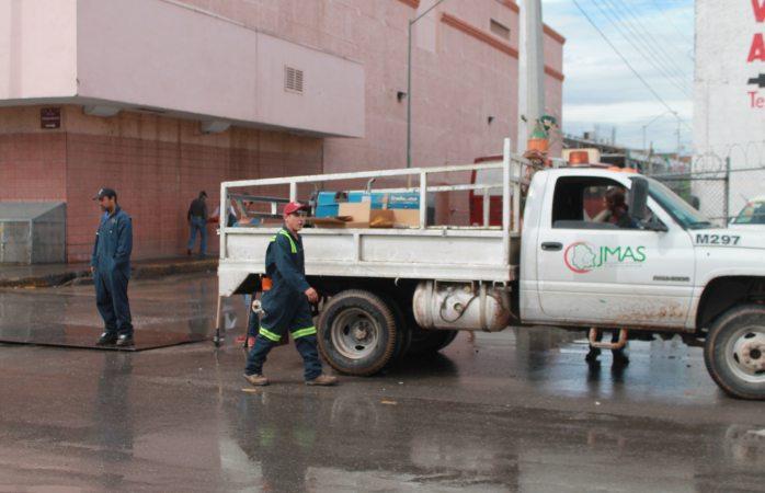 Se registran 4 problemas de alcantarillado tras lluvias