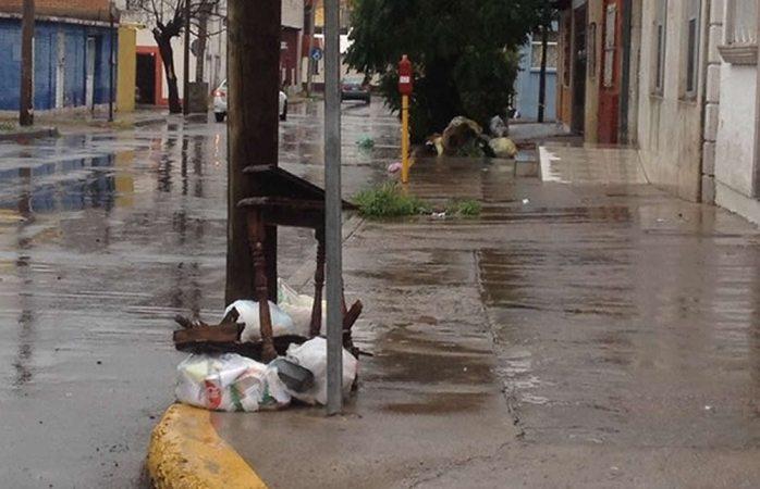 Retrasan lluvias servicio de recolección de basura
