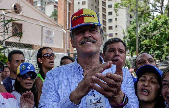 Venezuela declara a Vicente Fox persona non grata