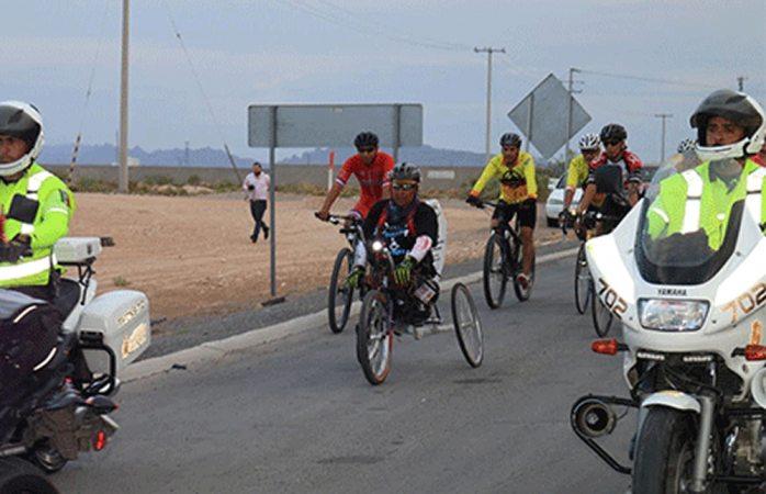El atleta Mario Dávalos llega a Chihuahua — Por la inclusión