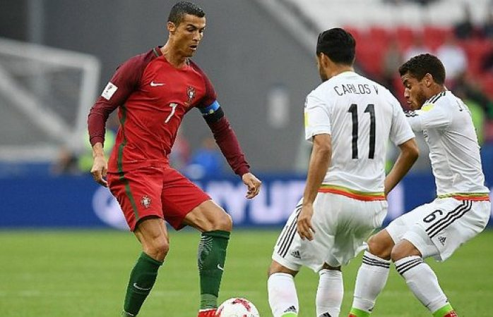 '¡Eh, son muy malos!'dice Cristiano Ronaldo de México