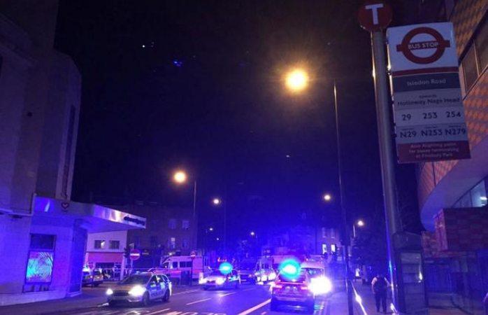 Detuvieron al acusado de atropellar a peatones en Londres dejando