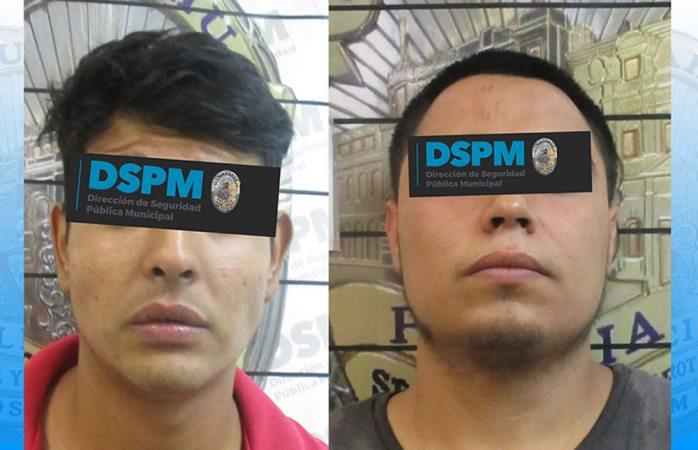 Arrestan a dos con droga que intentaban esconder en motor
